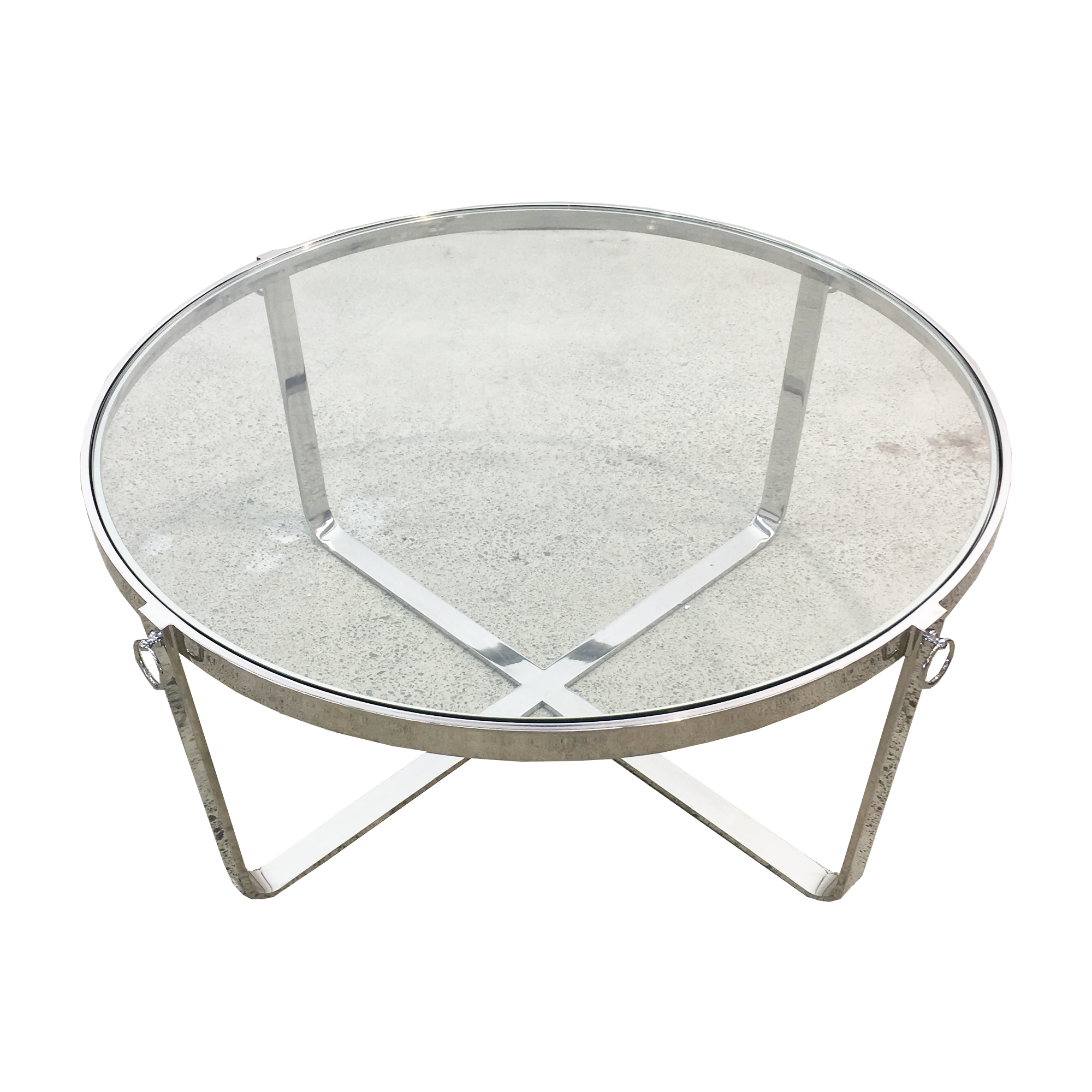 New York Coffee Table Polished Furniture Living Room Interior