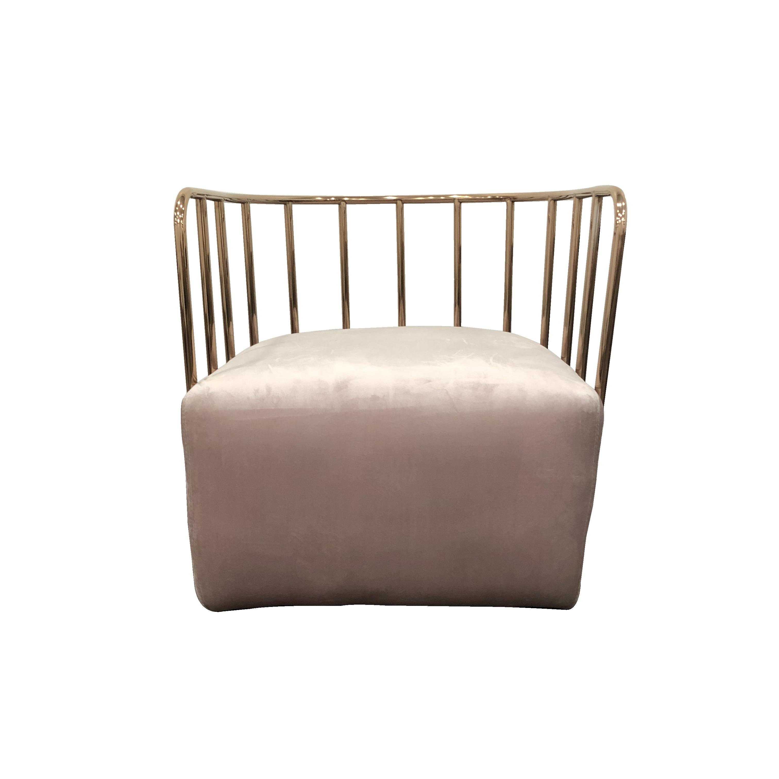 Astounding Rose Gold Chair Blush Velvet Seat Furniture Chairs Lamtechconsult Wood Chair Design Ideas Lamtechconsultcom