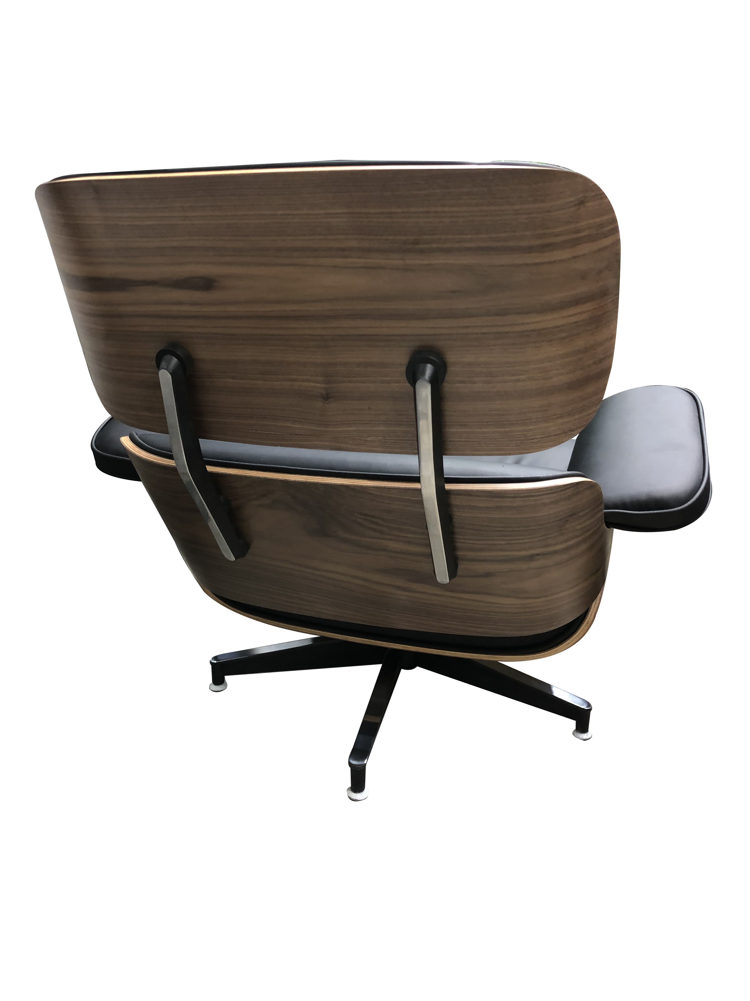 Surprising Replica Eames Chair And Ottoman In High Quality Black Pu Camellatalisay Diy Chair Ideas Camellatalisaycom