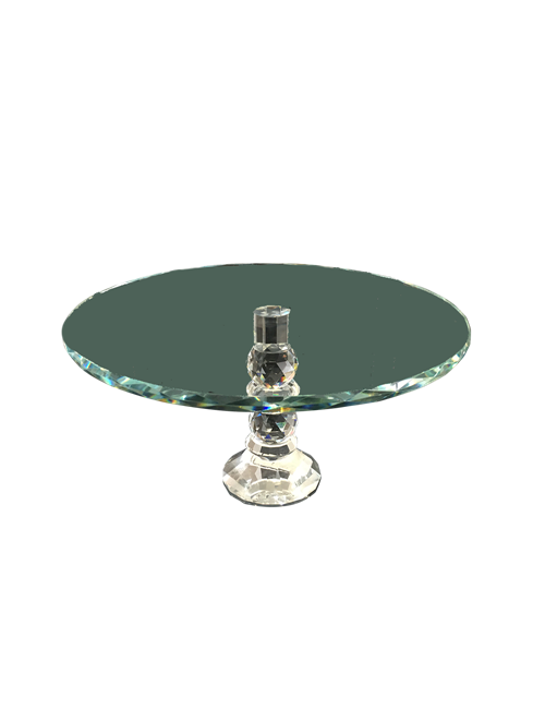 Glass Cake Stand Crystal