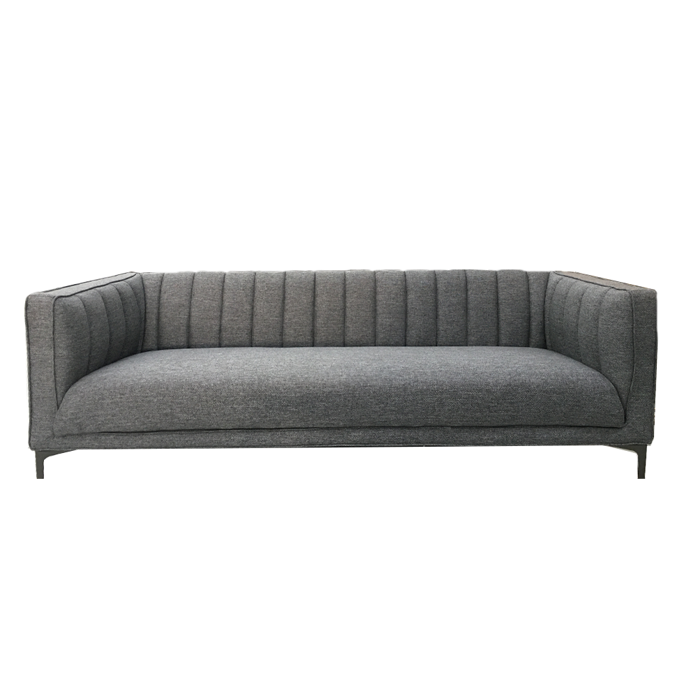 charcoal kennedy 3 seat sofa  furnitureliving room