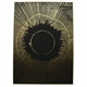 BLACK GOLD BURST CANVAS