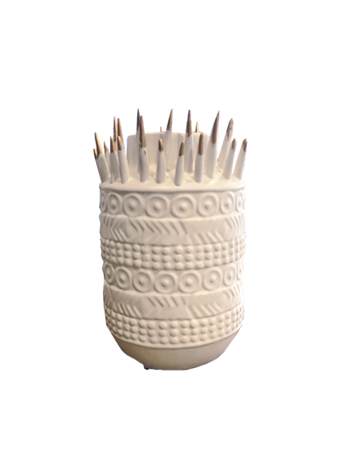25CMH SPIKED PACIFICA VASE