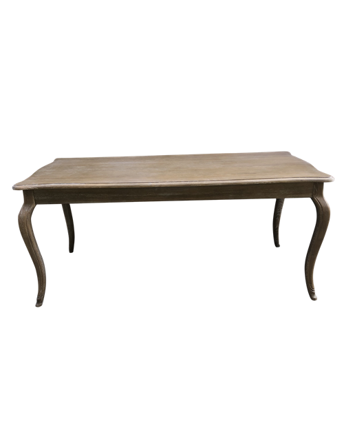 JEREMIAH CABRIOLE LEG DINING TABLE