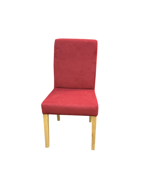 RED VICTORIA DINING CHAIR