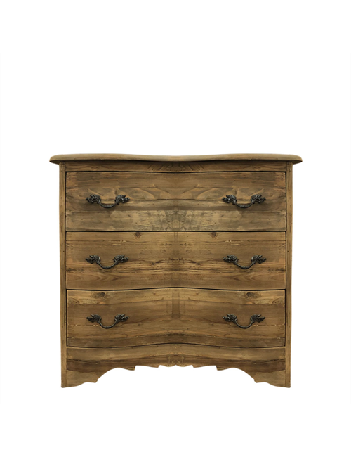 NATURAL PINE CHEST OF DRAWERS